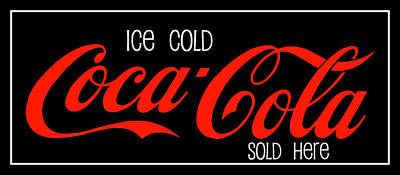 Photograph - Coca-cola Sold Here 2 The Thirst Quencher Art by Reid Callaway