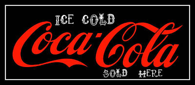 Photograph - Coca-cola Sold Here 5 The Thirst Quencher Art by Reid Callaway