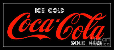 Photograph - Coca Cola Sold Here 7 The Thirst Quencher Art by Reid Callaway