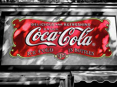 Bottling Company Photograph - Coca Cola  V6 by John Straton