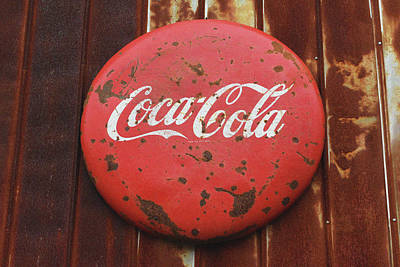 Photograph - Coca Cola Vintage Sign by Sandi OReilly