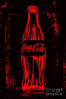 Cocacola_popart_02-5 Art Print