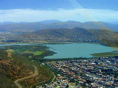 Photograph - Cochabamba Lake by Lew Davis