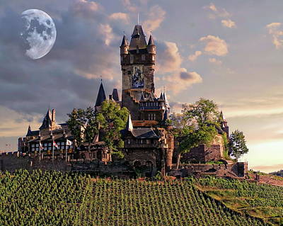 Photograph - Cochem Castle by Anthony Dezenzio