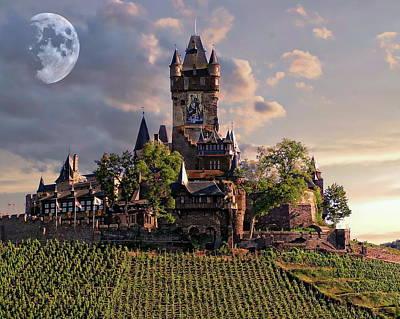 Photograph - Cochem Castle by Anthony Dezenzio