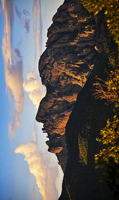 Skiphunt Photograph - Cochise Head by Skip Hunt