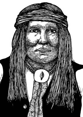 Cochise Art Print by Karl Addison