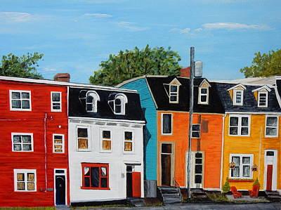 Painting - Cochrane Street by Betty-Anne McDonald