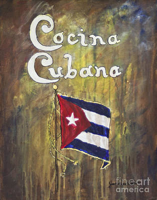 Painting - Cocina Cubana by Janis Lee Colon