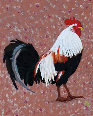 Painting - Cock A Doodle Doo by Deborah Boyd
