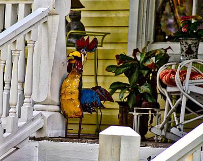 Photograph - Cockadoodle Doo by Linda Brown
