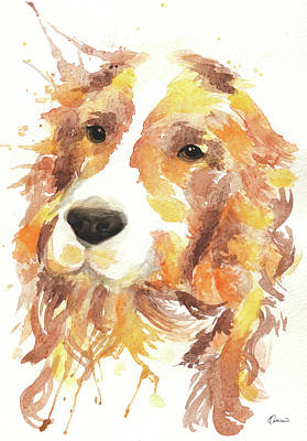 Cocker Spaniel Painting - Cocker by Kathleen Wong