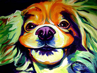 Cocker Spaniel Painting - Cocker Spaniel - Cheese by Alicia VanNoy Call