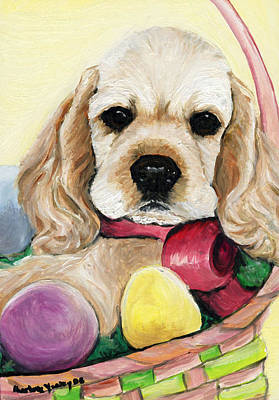 Cocker Spaniel Painting - Cocker Spaniel by Charlotte Yealey