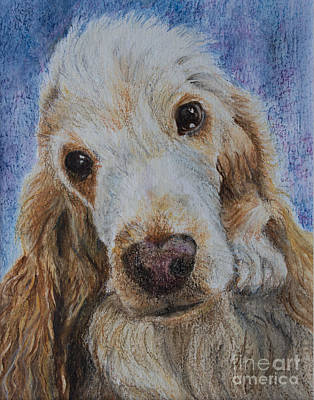 Cocker Spaniel Love Original by Kathryn Bell