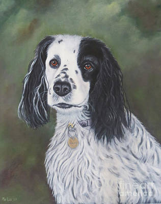 Mongrel Painting - Cocker Spaniel by Mo Lee