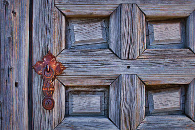 Photograph - Cockeyed - Door by Nikolyn McDonald