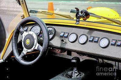 Cockpit 7 Art Print