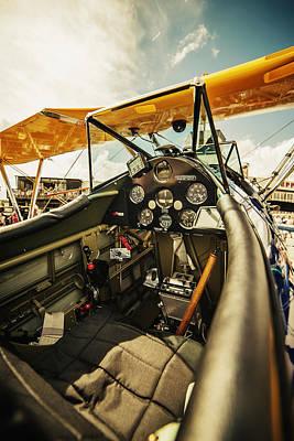 Flightdeck Photograph - Cockpit by James Fleishel