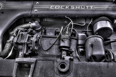 Photograph - Cockshutt Engine by Mike Eingle