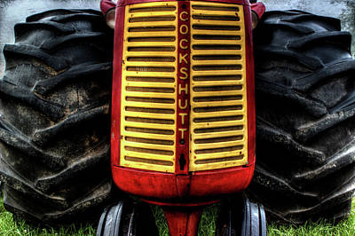 Photograph - Cockshutt Tractor by Mike Eingle