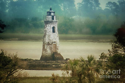 Photograph - Cockspur Island Light by Dawn Gari