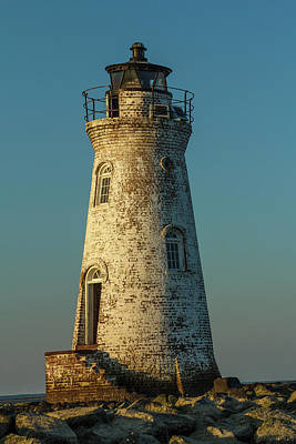 Photograph - Cockspur Island Lighthouse by Steven Bateson