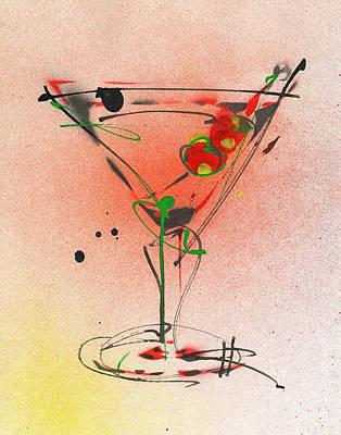 Cocktail #4 Original by Ryan  Hopkins