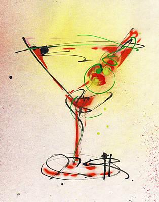 Cocktail #6 Original by Ryan  Hopkins