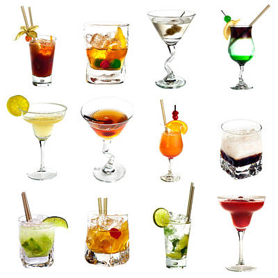 Martini Royalty-Free and Rights-Managed Images - Cocktail collection by Boyan Dimitrov