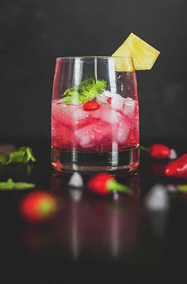 Food And Beverage Royalty-Free and Rights-Managed Images - Cocktail by Happy Home Artistry
