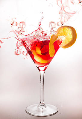 Defocused Photograph - Cocktail  by Ivan Vukelic