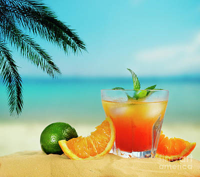 Photograph - Cocktail On The Beach by Jelena Jovanovic