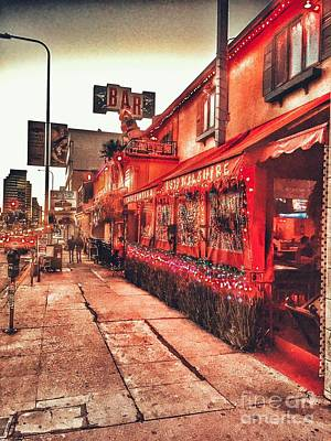 Photograph - West Los Angeles Cocktail Row by Jenny Revitz Soper
