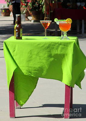 Photograph - Cocktail Table by Randall Weidner