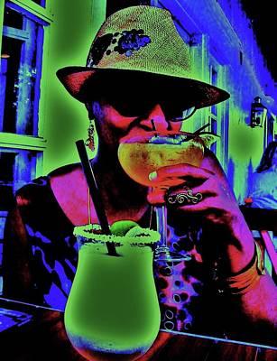 Cocktails Anyone Art Print by Diana Dearen