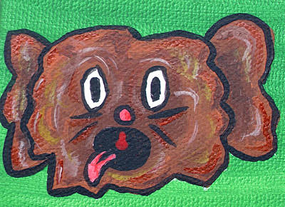 Green Beans Painting - Coco Bean by Jera Sky