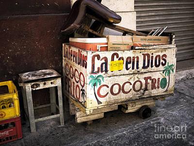 Photograph - Coco Frio by John Rizzuto