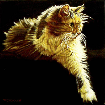 Painting - Coco In Repose by Margaret Horvat