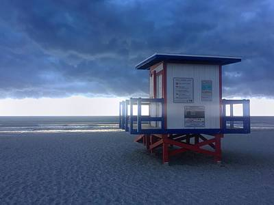 Photograph - Cocoa Beach After The Storm by Bradford Martin