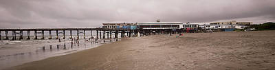 Photograph - Cocoa Beach Pier - Lowtide by Greg Jackson