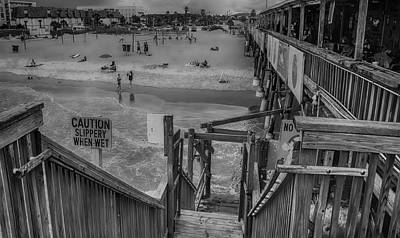 Photograph - Cocoa Beach Pier by Pat Cook