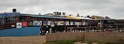 Photograph - Cocoa Beach Pier - Pelican's Bar And Grill Exterior - Florida by Greg Jackson