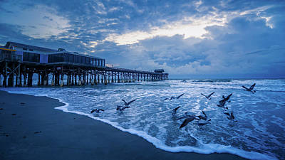 Photograph - Cocoa Beachin the Blue by Fred Gramoso