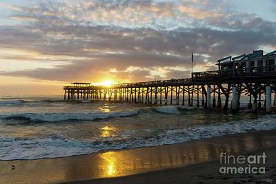 Photograph - Cocoa Pier 1st Sunrise 2017 by Jennifer White