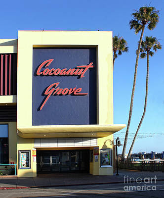 Photograph - Cocoanut Grove Santa Cruz by Gregory Dyer