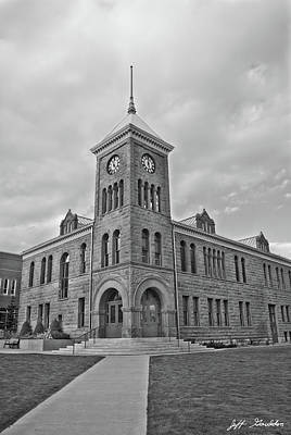 Photograph - Coconino County Courthouse by Jeff Goulden