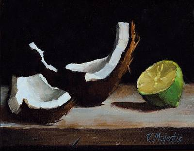 Painting - Coconut And Lime by Viktoria K Majestic