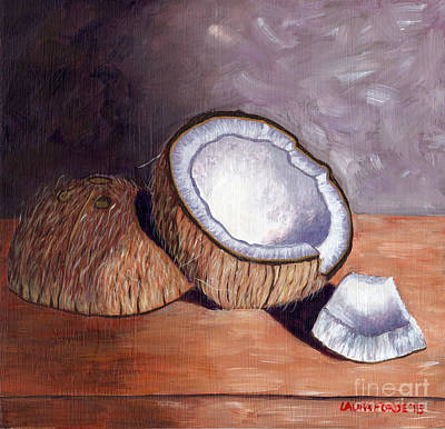 Painting - Coconut Anyone? by Laura Forde