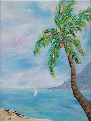 Painting - Coconut Flavor by Judith Rhue